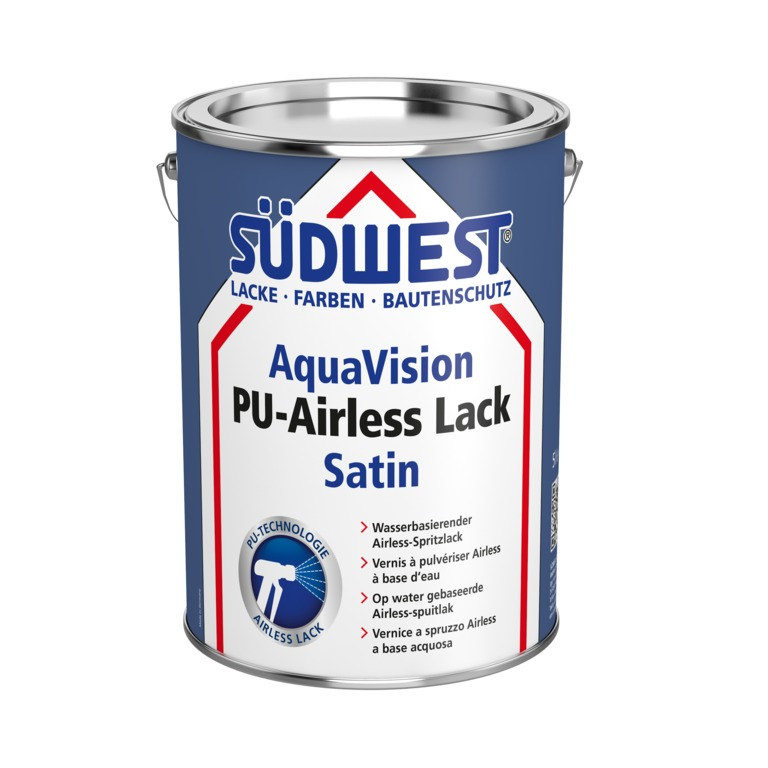 AquaVision,PU-Airless,Lack,Satin